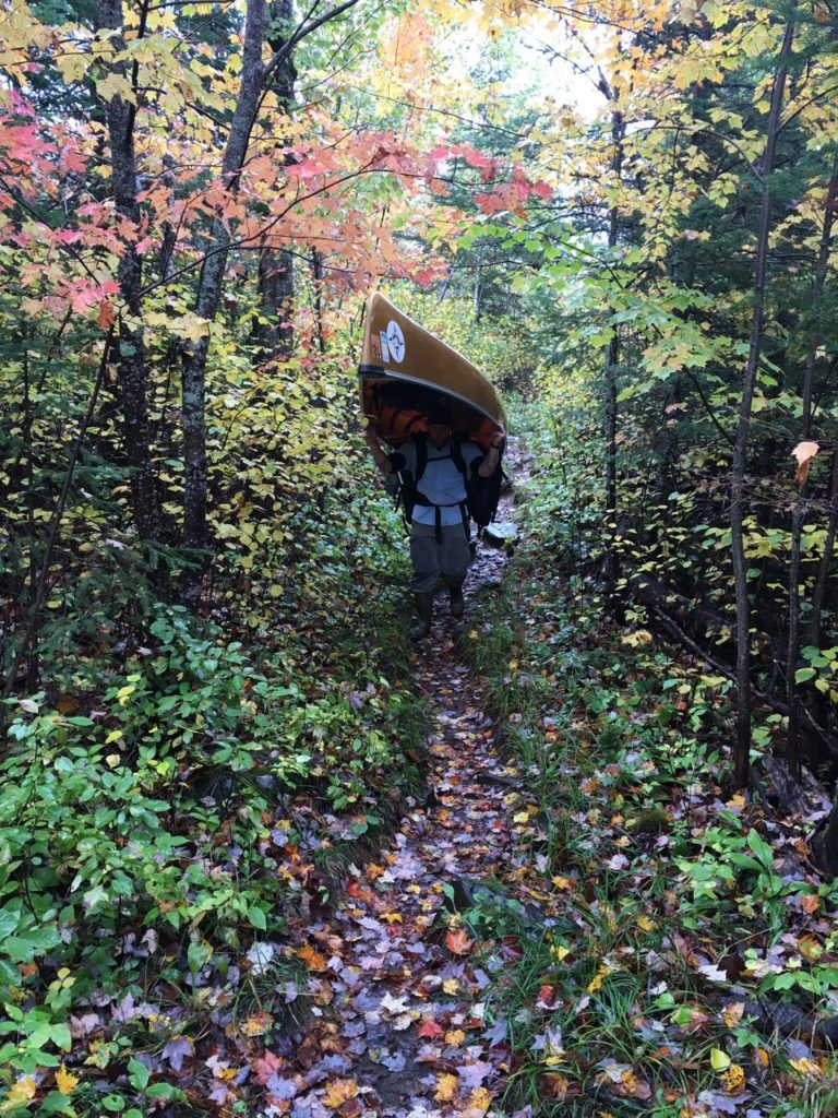 canoe rental through partial outfitting