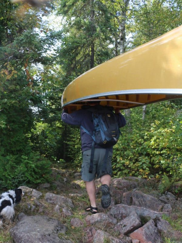 rent a canoe with partial outfitting