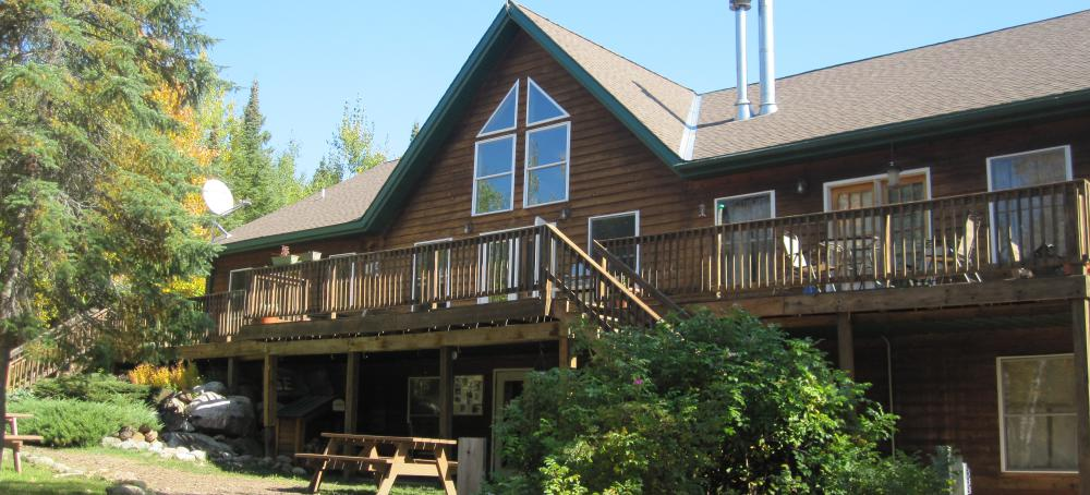Lodging at the end of the Gunflint Trail