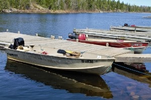 Boundary Waters Boat and Motor
