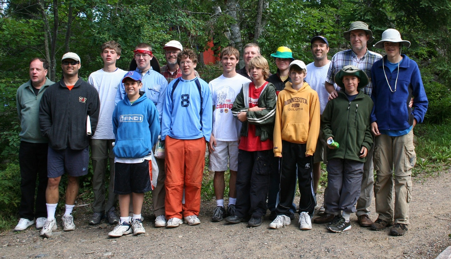 Boy Scout High Adventure BWCA trip