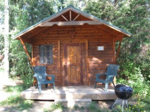 Voyageur offers private bunkhouses for canoe groups