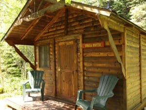 BWCAW bunkhouse lodging