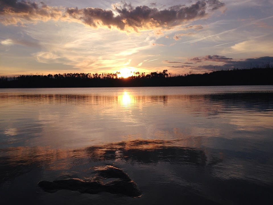 Solitude and sunsets in the Boundary Waters
