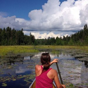 Canoeing the BWCA with complete outfitting