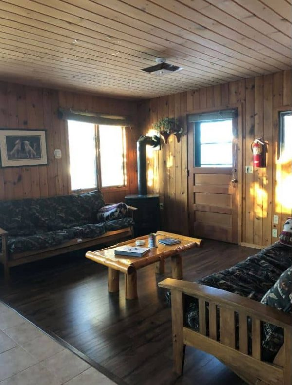 Riverside Cabin Living Room