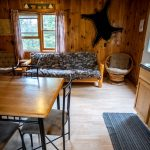 Rustic cabin on the gunflint trail