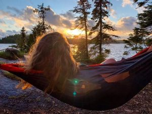 Hammocking in the Boundary Waters
