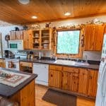 Lookout Cabin Kitchen