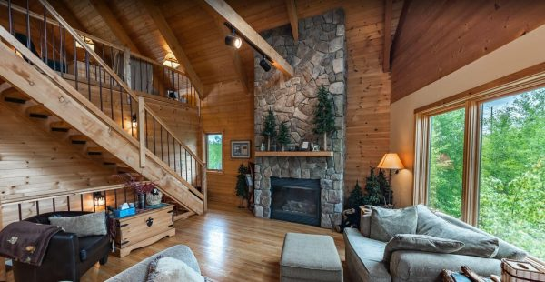 Lookout Cabin Living Room