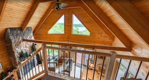Lookout Cabin Loft View