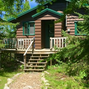 Lodging on Saganaga Lake