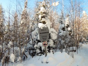 Winter Boundary Waters Hikes